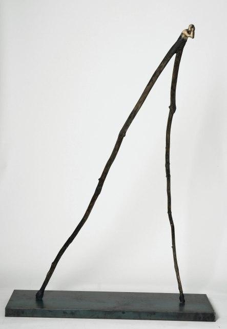 L'affligé (2013) (168 cm x 120 cm x 34 cm)