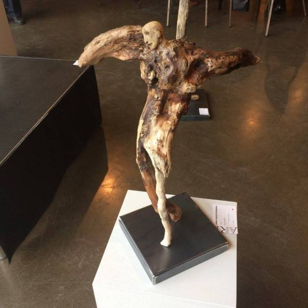 Icare no 2 - 2016 (56 x 46 x 38 cm) - collection privée