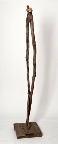 Le rêveur (2011) (210 x 18 x 20 cm)