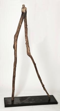 Le rôdeur (2012) (220 x 122 x 30 cm)