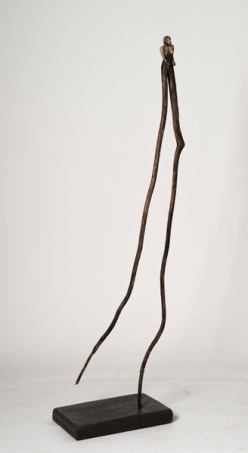 L'amazone (2014) (150 x 40 x 36 cm)