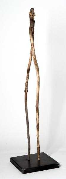 L'inconsolée (2014) (156 x 38 x 38 cm)
