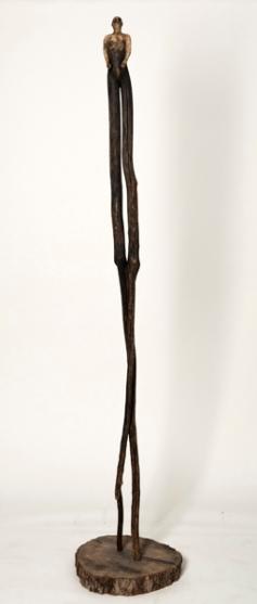 Le contemplatif (2012) (212 x 20 x 18 cm) - collection privée