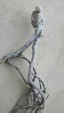 Âme-oiseau no 5 (2017) (63 x 12 x 13 cm)