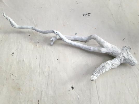 Âme-oiseau no 10 (2018) (62 x 22 x 16 cm)