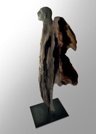 Âme-oiseau no 11 (2019) (43 x 20 x 12 cm)