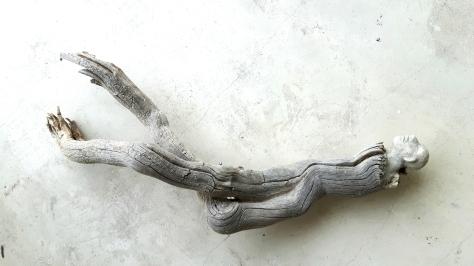 Âme-oiseau no 9 (2017) (46 x 22 x 11 cm)