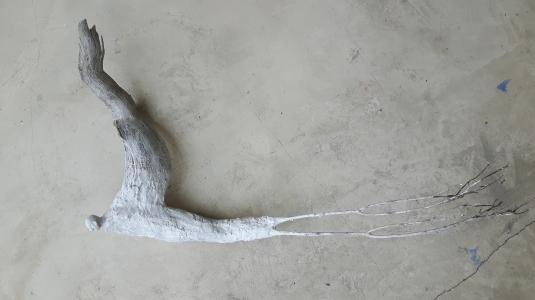 Âme-oiseau no 7 (2017) (60 x 30 x 16 cm)