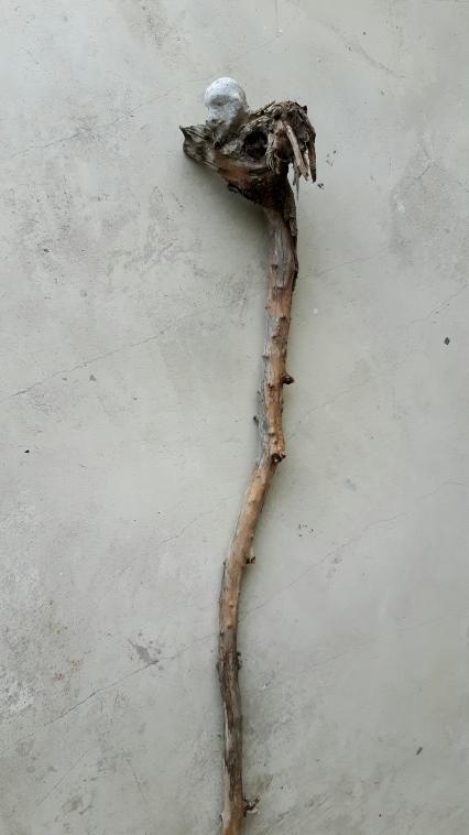 Âme-oiseau no 6 (2017) (60 x 10 x 10 cm)